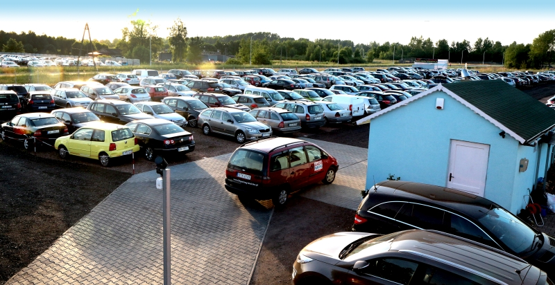 Parking AMDM w Pyrzowicach